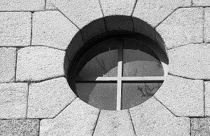 Fenêtre oeil de boeuf (ronde)