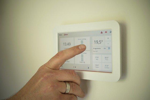 régler le thermostat tactile