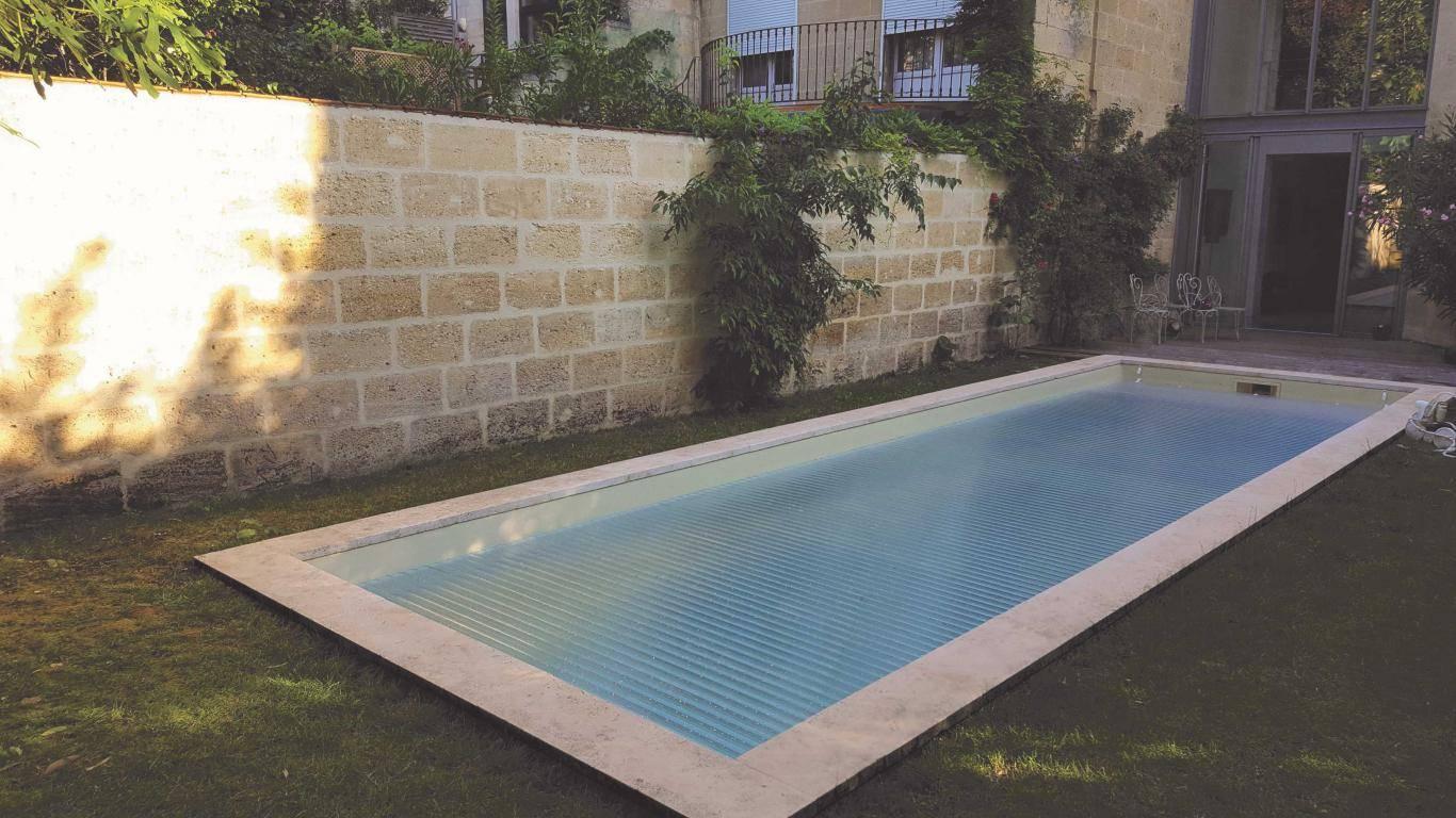 volet de piscine intégré azenco