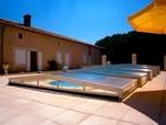 abri piscine bas Vienne